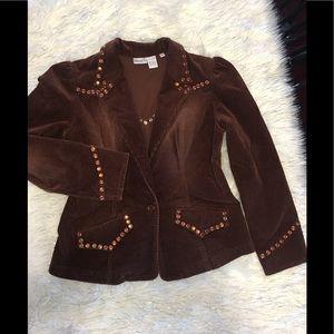 Brown blazer large